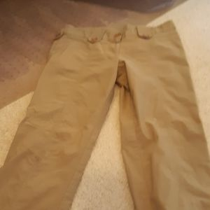Khaki colored work pants